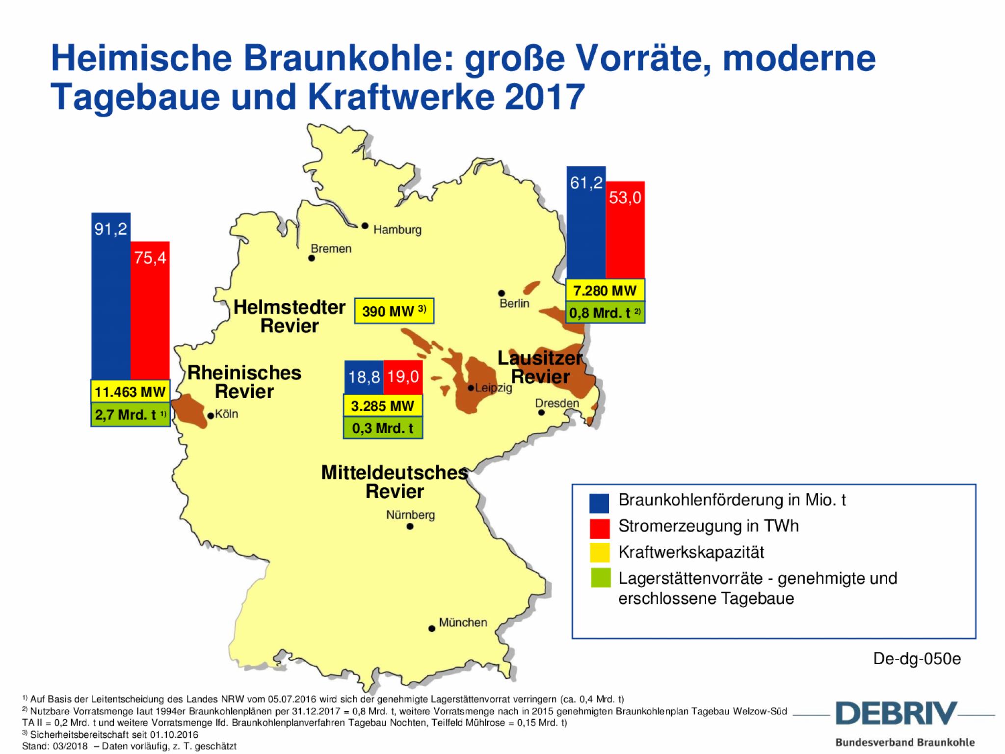 braunkohlegebiete in deutschland karte Rohstoffe im Überblick Braunkohle in Sachsen